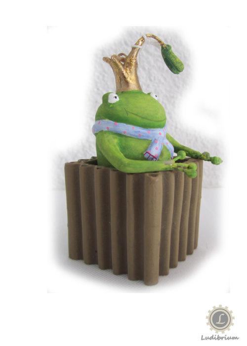 One Hundred 80° - Frosch im Kistchen