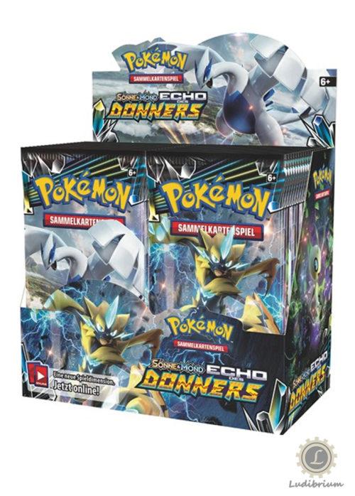Pokémon - Sonne und Mond, Echo des Donners, *Deutsche Version* (Booster)