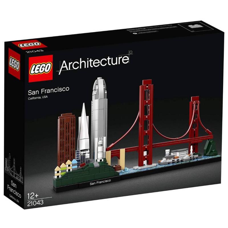 Ludibrium-LEGO Architecture 21043 - San Francisco