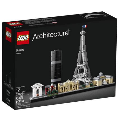 Ludibrium-LEGO Architecture 21044 - Paris - Klemmbausteine