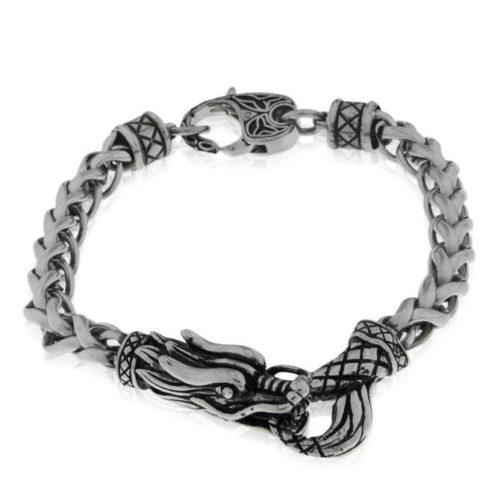 Armkette mit Drachenkopf