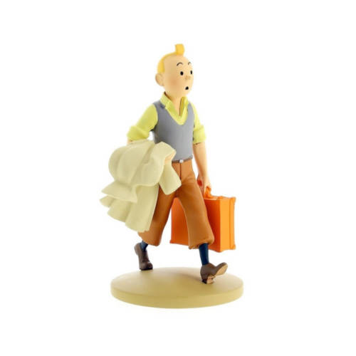 Tim auf dem Weg / Tintin en route