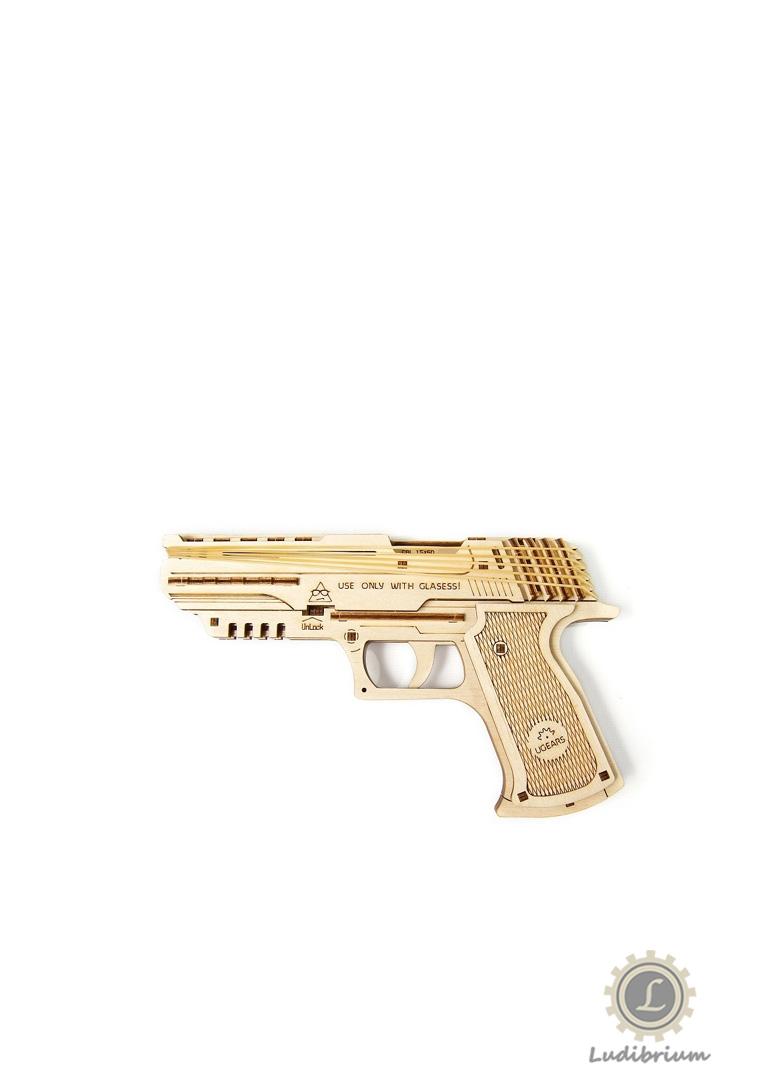 UGEARS 70047 Pistole W0lf-01