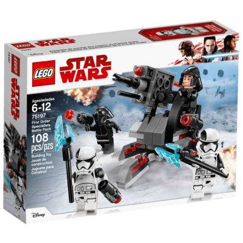 Ludibrium-Lego Star Wars 75197 - First Order Specialists Battle Pack