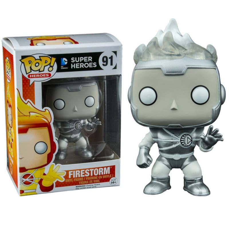 Ludibrium-DC Comics - POP! Heroes Vinyl Figur White Lantern Firestorm