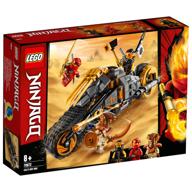Ludibrium-LEGO Ninjago 70672 - Coles Offroad-Bike
