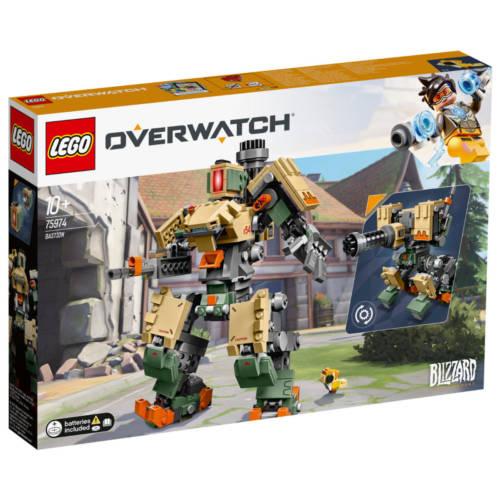 Ludibrium-LEGO Overwatch 75974 - Bastion - Klemmbausteine