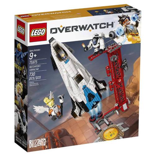 Ludibrium-LEGO Overwatch 75975 - Watchpoint: Gibraltar - Klemmbausteine