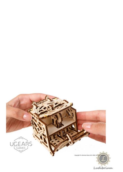 UGEARS 70072 Würfelbox - Dice Keeper - Wuerfelbox