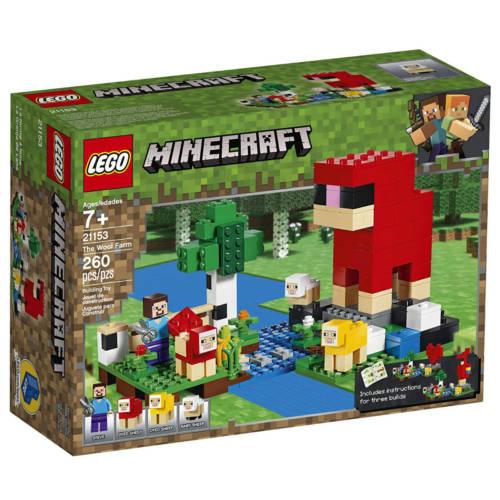 Ludibrium-LEGO® Minecraft™ 21153 - Die Schaffarm - Klemmbausteine