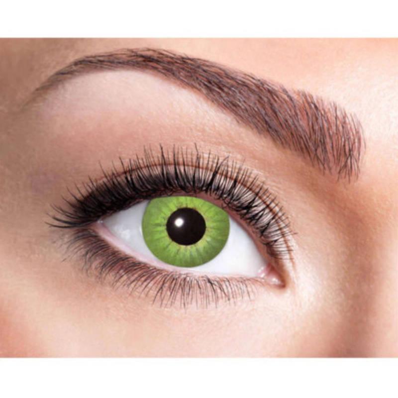 """Fun Kontaktlinsen """"Electro Green"""""""