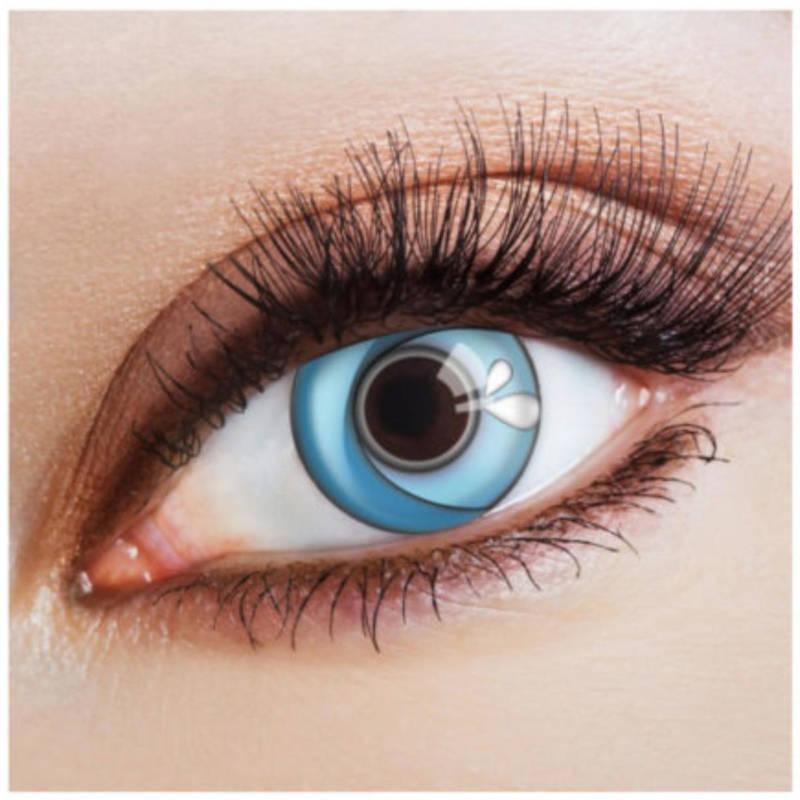 """Kontaktlinsen """"Blue Wave"""""""