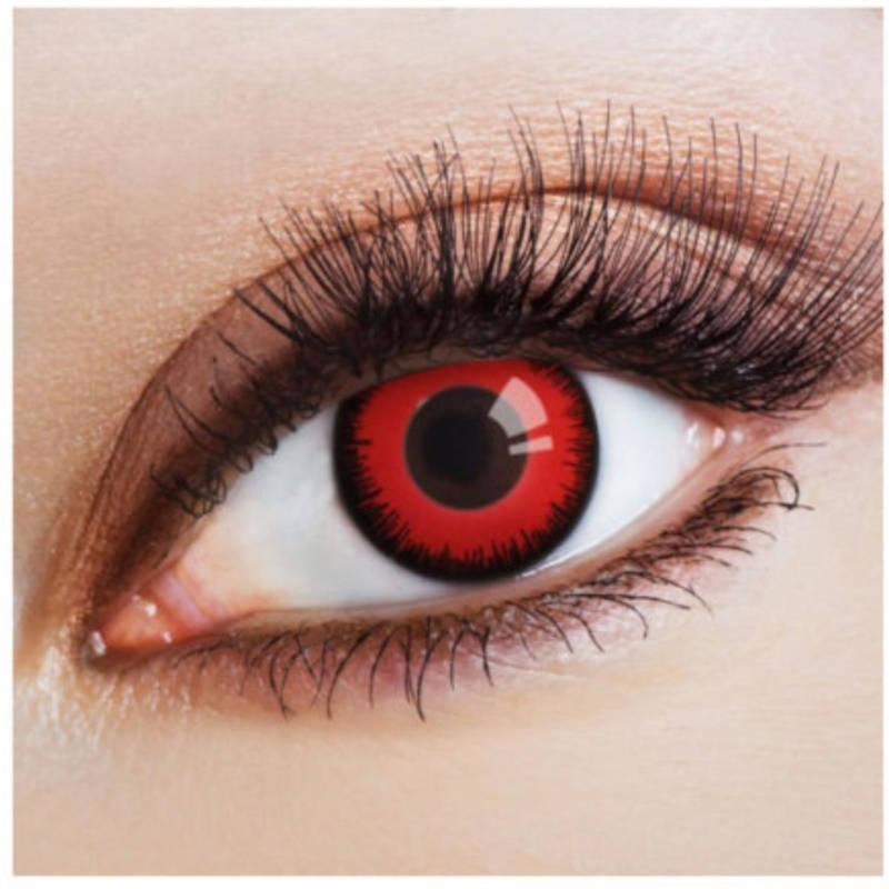 "Kontaktlinsen ""Red Nights"""