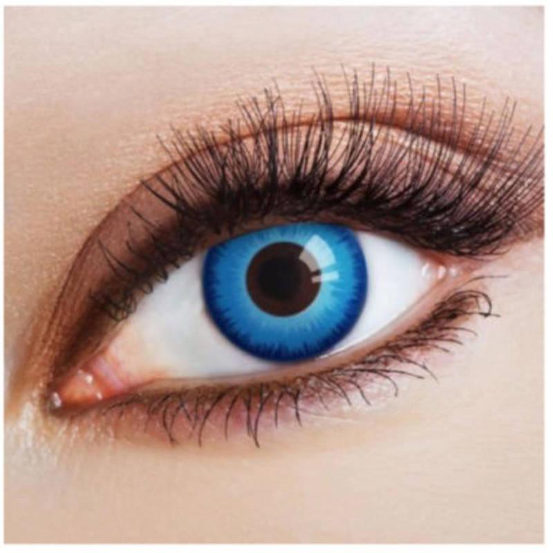 "Kontaktlinsen ""Steel Blue Eye"""