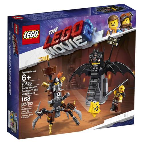 Ludibrium-LEGO® The Movie 2 - 70836 - Einsatzbereiter Batman™ und EisenBart - Klemmbausteine
