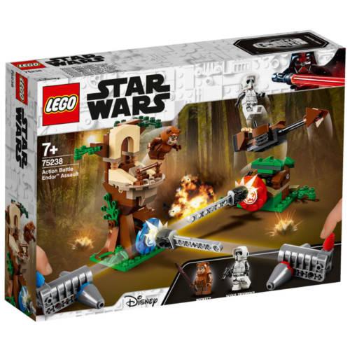 Ludibrium-Lego Star Wars 75238 - Action Battle Endor Attacke - Klemmbausteine