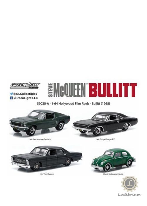 Greenlight - Hollywood Film Reels Series 3 Bullitt (1968)