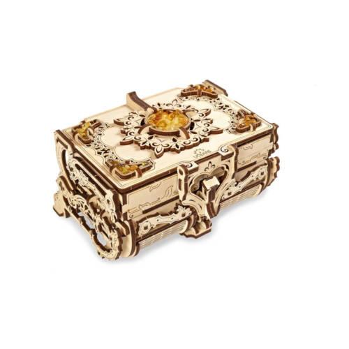 UGEARS 70090 -Amber Box - mechanischer Holzbausatz