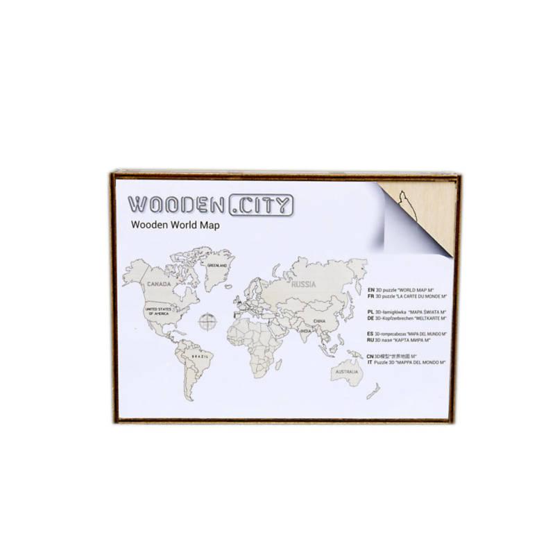 Wooden.City - World Map L