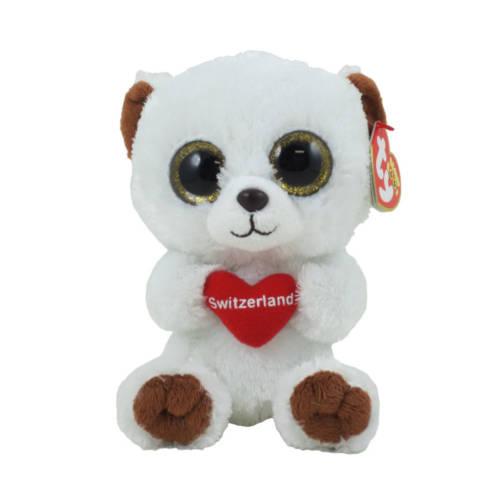 Ludibrium-Beanie Boos - Switzerland Bear klein