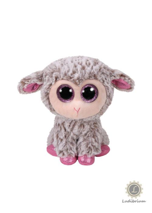 Beanie Boos - Dixie Lamm grau pink klein
