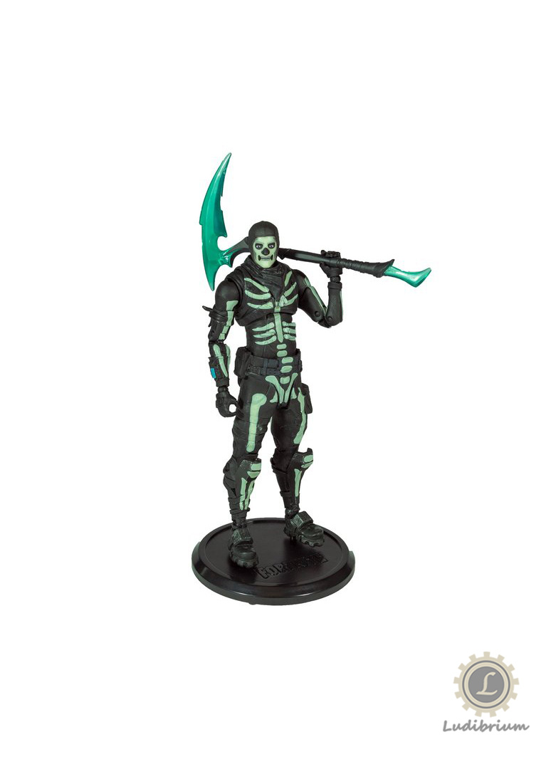 Fortnite: Green Glow Skull Trooper - Glow In The Dark
