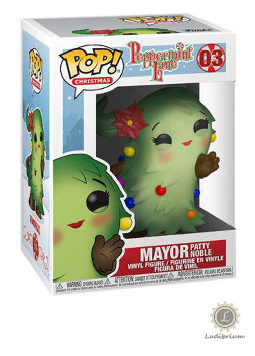 Peppermint Lane - Christmas POP! Vinyl Holiday Mayor Patty Noble Figure 03