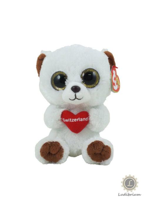Beanie Boos - Switzerland bear klein
