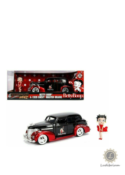 Jada Toys - Betty Boop & 1939 Chevy Master Deluxe