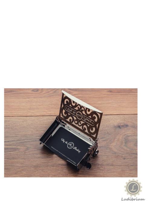Time4Machine - Perfecto Card Case - Metallbausatz