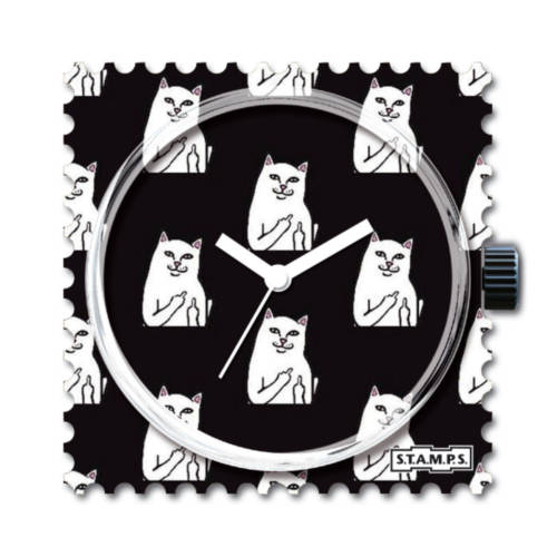 S.T.A.M.P.S. - Uhrenmotiv Cat you