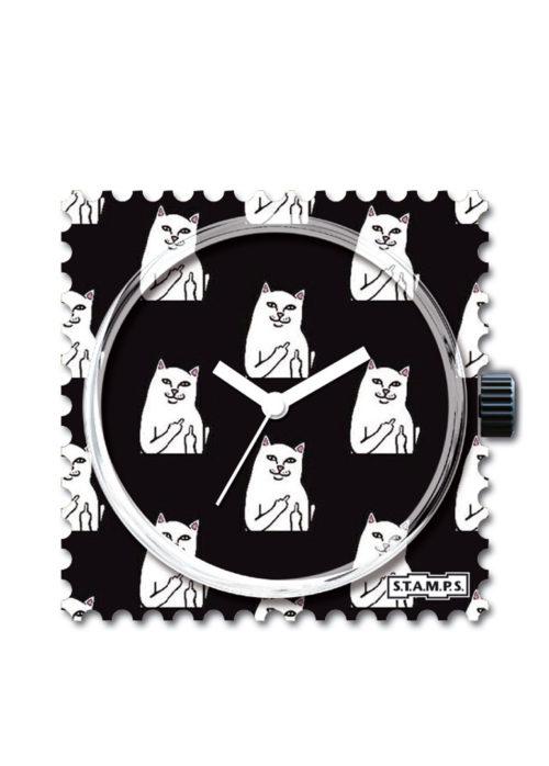 S.T.A.M.P.S. - Uhrenmotiv Cat you