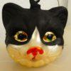 Baumschmuck - Katzenkopf aus Glas