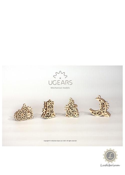 UGEARS 70042 - U-Fidgets-Gearsmas