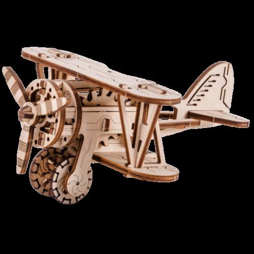 Ludibrium-Wooden.City - Doppeldecker (Biplane) WR304 - Holzbausatz
