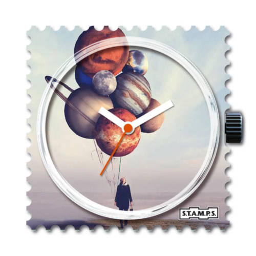 S.T.A.M.P.S. - Uhrenmotiv Balloon Planets