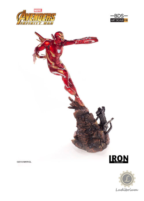 Avengers Infinity War BDS Art Scale Statue 1/10 Iron Man Mark L 31 cm
