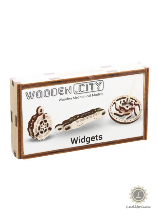 Wooden.City -Widgets- Holzbausatz