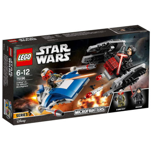Ludibrium-LEGO® Star Wars™ 75196 - A-Wing™ vs. TIE Silencer™ Microfighters
