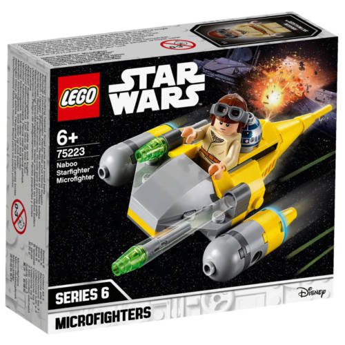 Ludibrium-LEGO® Star Wars™ 75223 - Naboo Starfighter™ Microfighter