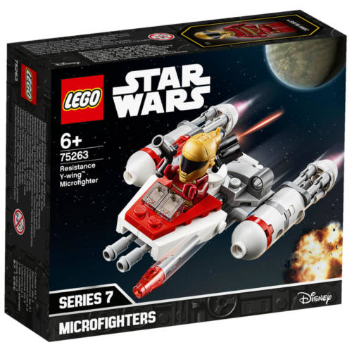 Ludibrium-LEGO® Star Wars™ 75263 - Widerstands Y-Wing™ Microfighter