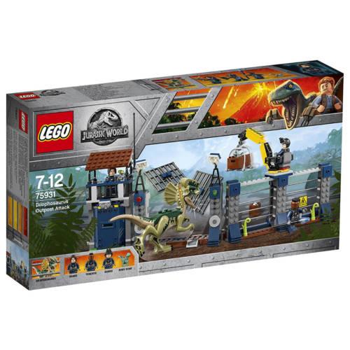 Ludibrium-LEGO® Jurassic World™ 75931 Dilophosaurus Outpost Attack