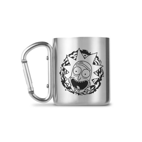 Rick and Morty -  Carabiner Thermotasse
