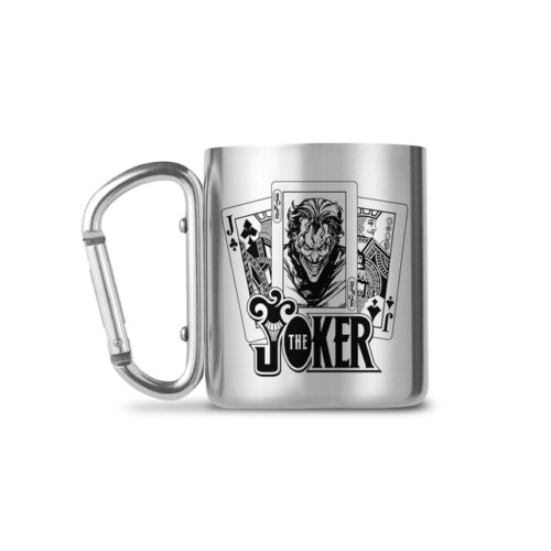 DC Comics -  The Joker - Carabiner Thermotasse