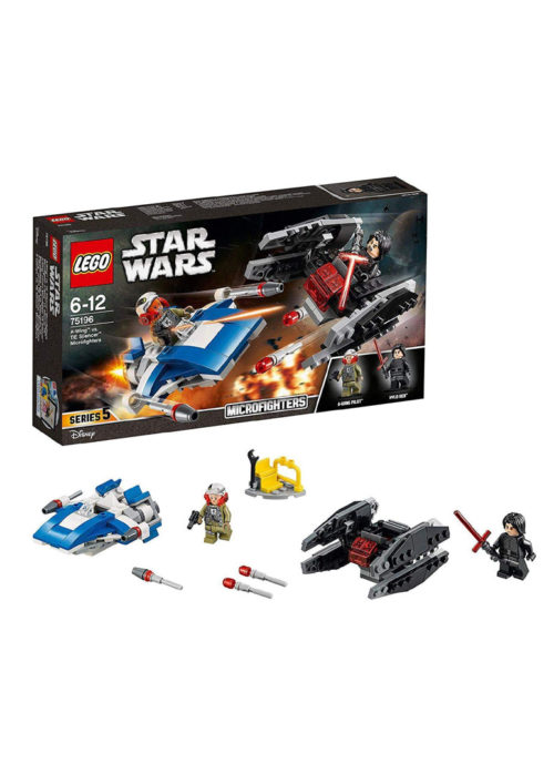 LEGO® Star Wars™ 75196 - A-Wing™ vs. TIE Silencer™ Microfighters