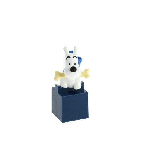 kleine Figur Struppi /figurine buste PVC - Milou