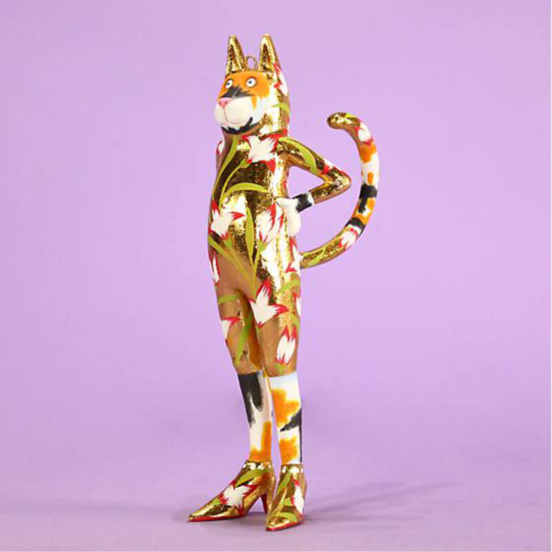 Ludibrium-Krinkles - Candy Calico Catsuit Ornament