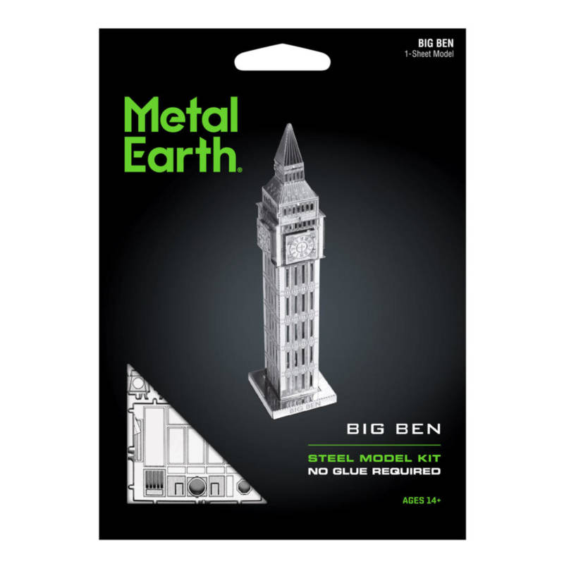 Ludibrium-Metal Earth - Big Ben Tower