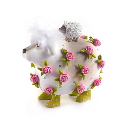 Krinkles - Willow Working Sheepdog & Lamb Ornament
