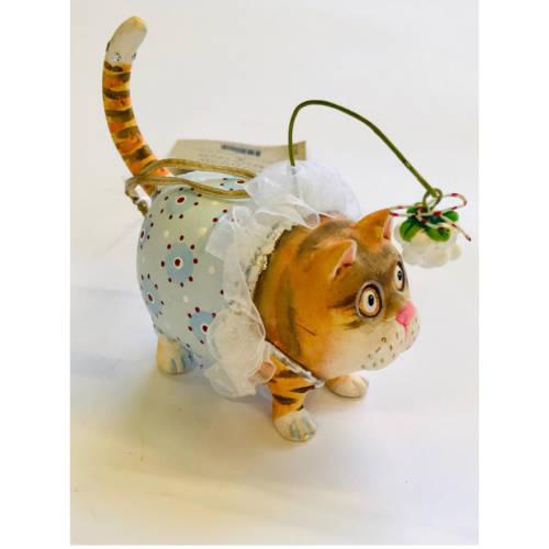 Krinkles - Missy Mistletabby Ornament